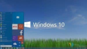 Windows 10 voorbeeld